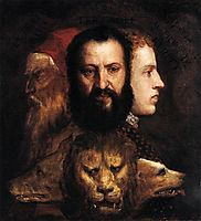 Allegory of Time Governed by Prudence, c.1565, titian