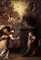 The Annunciation, c.1557, titian