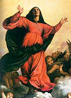 The Assumption of the Virgin, detail 2, 1516-1518, titian