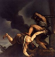 Cain and Abel, 1544, titian