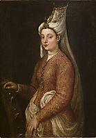 Cameria, daughter of Suleiman the Magnificent, titian