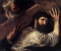 Christ Carrying the Cross, 1575, titian