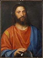 Christ with Globe, 1530, titian