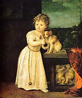 Clarice Strozzi, 1542, titian