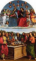 Coronation of the Virgin, titian