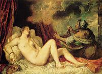 Danae, 1553-1554, titian