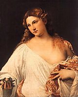 Flora, 1515, titian