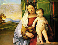 The Gipsy Madonna, 1510-1511, titian