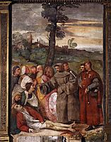 The Healing of the Wrathful Son, 1511, titian