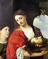 Judith with the Head of Holofernes, 1515, titian
