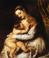 Madonna and Child, 1570, titian