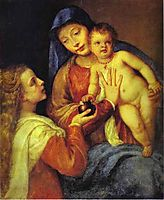 Madonna and Child with Mary Magdalene, c.1560, titian
