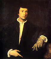 Man with Gloves, 1523-1524, titian