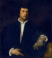Man with a Glove, c.1520, titian