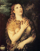 Mary Magdalen Repentant, 1531, titian