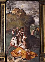 The Miracle of the Jealous Husband, 1511, titian