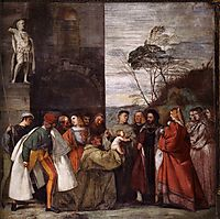 The Miracle of the Newborn Child, 1511, titian