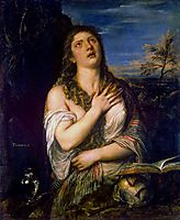 Penitent St. Mary Magdalene, c.1565, titian