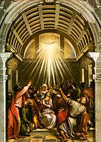 Pentecost, titian