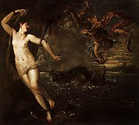Perseus and Andromeda, 1556, titian