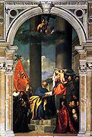 Pesaros Madonna, 1519-1526, titian
