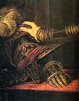 Philipp II, as Prince, detail 1, 1550-1551, titian