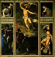 Polyptych of the Resurrection, 1522, titian
