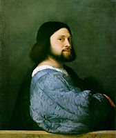 Portrait of Ariosto, 1508-1510, titian