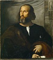 Portrait of a Bearded Man, c.1515, titian