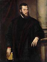 Portrait of Benedetto Varchi, 1540, titian
