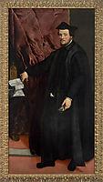 Portrait of Cardinal Cristoforo Madruzzo, 1552, titian