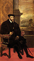 Portrait of Charles V Seated, 1548, titian