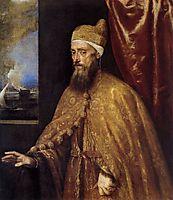 Portrait of the Doge Francesco Venier, 1556, titian