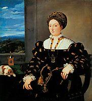 Portrait of Eleonora Gonzaga, 1538, titian