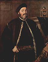 Portrait of Fabrizio Salvaresio, 1558, titian