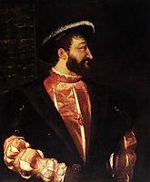 Portrait of Francis I, 1539, titian