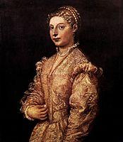 Portrait of a Girl, c.1545, titian