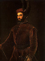 Portrait of Ippolito de Medici in a Hungarian Costume, 1533, titian