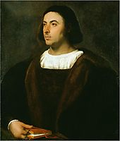 Portrait of Jacopo Sannazaro, 1518, titian