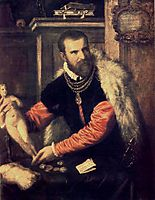 Portrait of Jacopo Strada, 1567-1568, titian