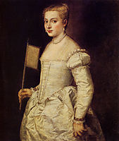Portrait of a Lady in White, 1555, titian
