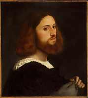 Portrait of a Man, c.1515, titian