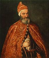 Portrait of Marcantonio Trevisani, 1554, titian