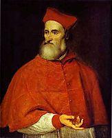 Portrait of Pietro Bembo, c.1540, titian