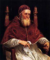 Portrait of Pope Julius II, 1546, titian