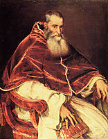 Portrait of Pope Paul III, 15, titian