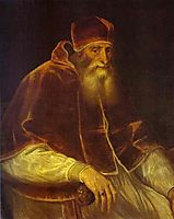 Portrait of Pope Paul III, 1548, titian
