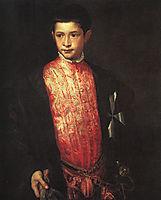 Portrait of Ranuccio Farnese, 1542, titian