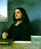 Portrait of a Venetian nobleman, c.1510, titian