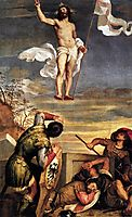 The Resurrection, 1544, titian